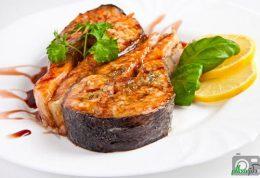 کالری ماهی پخته