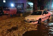 جان باختن دختر دانشجو در سیلاب خرم آباد