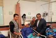 وزیر بهداشت به عیادت مجروحان حادثه سامرا رفت