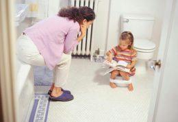 روشی به سبک اورپایی ها برای آموزش دستشویی به کودکان