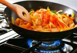 غذا را در دمای پائین بپزید