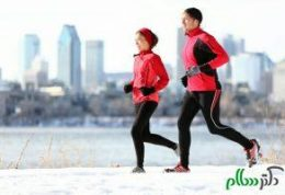 در روز های سرد چگونه ورزش کنیم؟