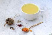 بالا بردن متابولیسم بدن با خوردن چای زعفرانی