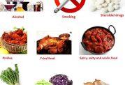 خوراکی های مضر برای زخم معده