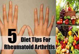 درمان آرتریت روماتوئید به روش تغذیه ای