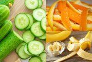 روش های استفاده از پوست موز و هندوانه