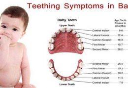 دندان درآوردن شیرخوار