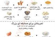 دریافت پروتئین به صورت روزانه برای بدن