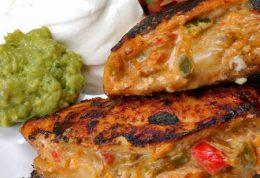 مزه دار کردن مرغ به روش مکزیکی ها