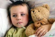 درمان سرماخوردگی کودک با روشهای خانگی