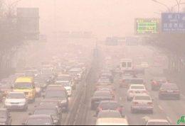 اعتراضی متفاوت به آلودگی هوا در پکن
