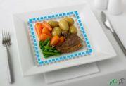 نمونه رژیم غذایی مناسب برای مبتلایان به کرون