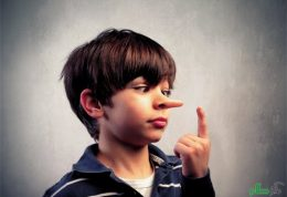 گرایش کودکان به دروغگویی