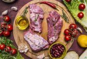خوراک گوشت با دستوری جدید