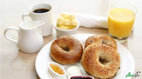 نمونه صبحانه با کالری های مختلف