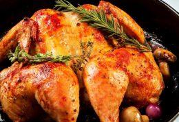 آموزش زعفرانی کردن مرغ