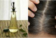 رفع سفیدی موها با روش های طبیعی