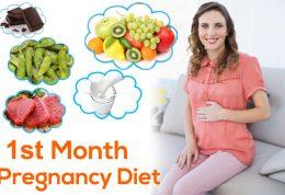 اصول تغذیه در اولین روزهای بارداری