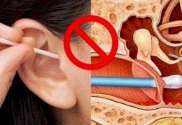 بررسی آسیب های گوش پاک کن