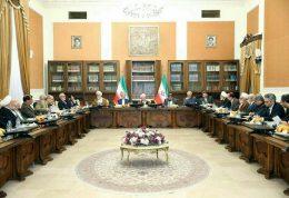 آخرین تصویر از آیت الله رفسنجانی در مجلس خبرگان