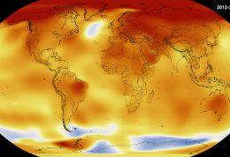 سال 2016 گرم ترین سال جهان