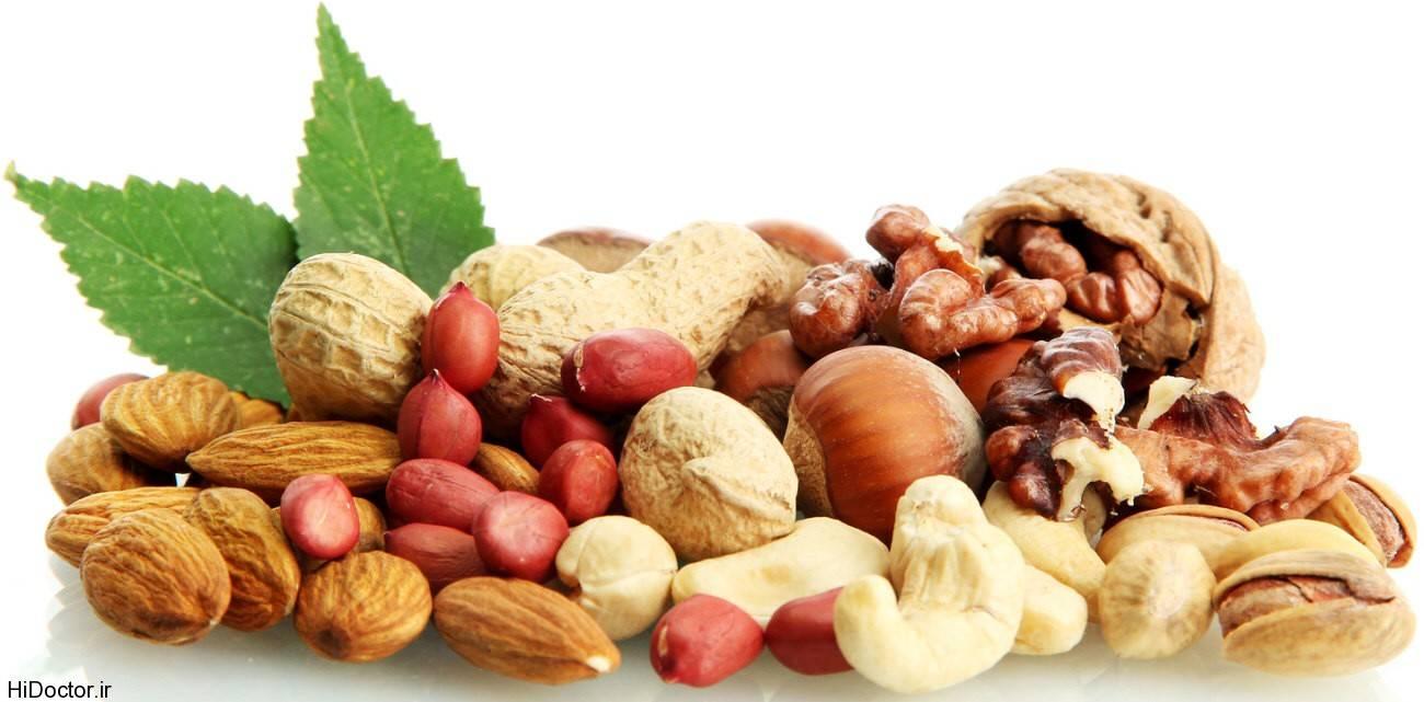 پروفایل بارداری 8 مغز خوراکی و آجیل مفید برای درمان بیماری ها