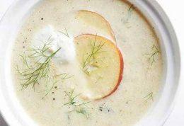 پیشنهاد ویژه دکتر سلام! دستور تهیه سوپ رازیانه آویشن و سیب