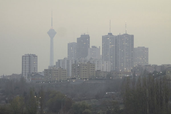 پرخاشگر شدن با آلودگی هوا