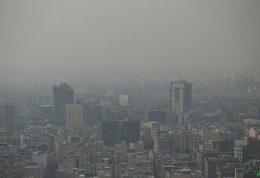 کیفیت هوای تهران بار دیگر مرز آلودگی را پشت سر گذاشت