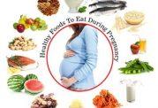 تغذیه مادر در ماه هشتم بارداری
