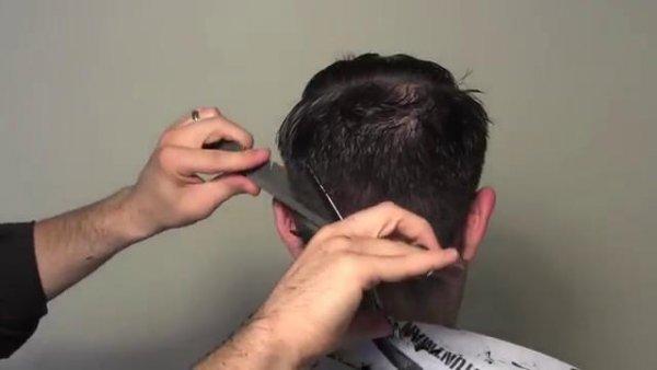 کوتاه کردن و حالت دادن به موها با استفاده از آتش