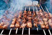 روش صحیح کباب کردن گوشت