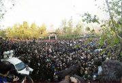 حماسه حضور مردم در مراسم تشییع پیکر آیتالله هاشمی رفسنجانی