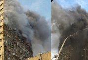 آموزش امداد هنگام مواجهه با آتش سوزی