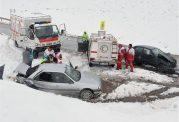 خدمات امدادی هلال احمر به 373 از متاثران برف