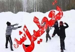اعلام تعطیلی مدارس و دانشگاه های برخی شهرها در 14 بهمن