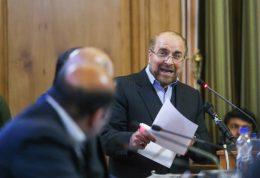 بررسی حادثه پلاسکو و حضور قالیباف در شورای شهر
