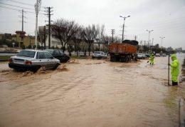 توصیه پلیس راهور به علت بارندگی ها و آبگرفتگی های شدید