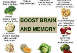 راهکارهای تغذیه ای مفید برای تقویت ذهن