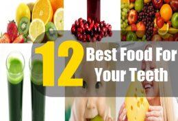 خوردنی های افزایش دهنده سلامت دهان و دندان