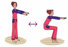 2 حرکت ورزشی برای از بین بردن چربی ناحیه شکم و ران