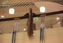 زنی که رکورد بلندترین موی سر در جهان را دارد