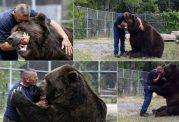 دوستی مرد با یک خرس شگفت انگیز