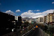 افزایش نسبی دمای تهران