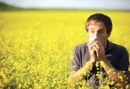 نشانههای آلرژی فصل بهار