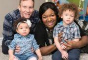 زن سیاه پوست بچه های سفید به دنیا آورد