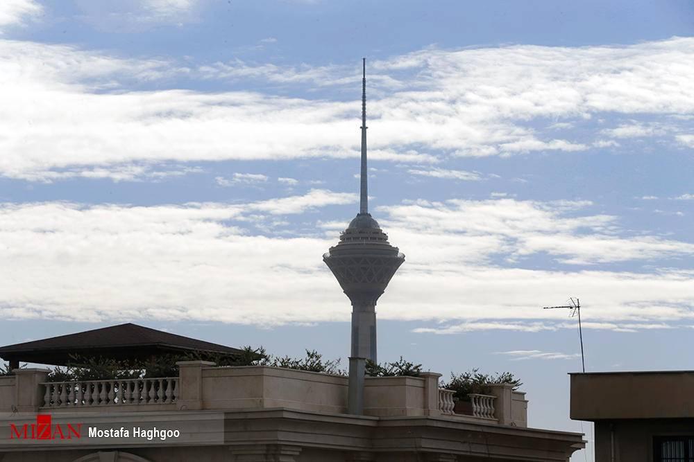 هوای قابل تنفس و پاک تهران در اولین روز نوروز