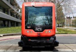 شروع به کار اتوبوس بدون راننده در کالیفرنیا