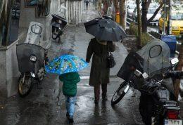 استمرار بارش ها در روزهای پایانی سال