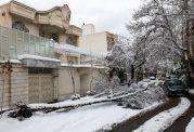 استمرار بارش باران و برف در 11 استان کشور